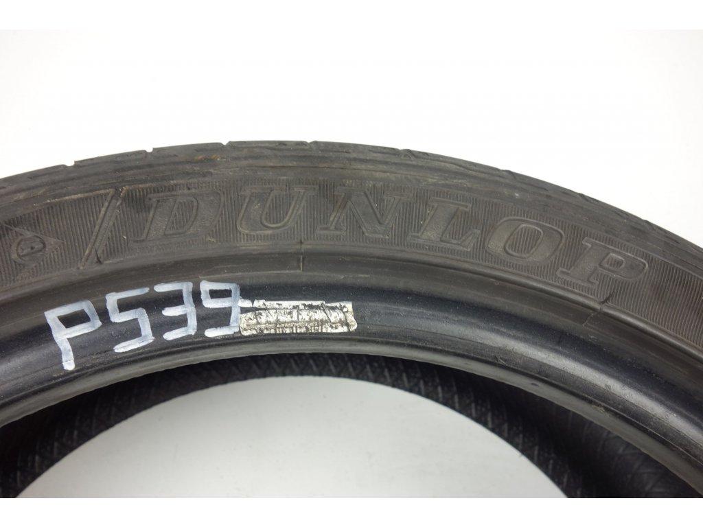 Letní Dunlop 215/40R17 - 4ks - vzorek cca 4,8 mm