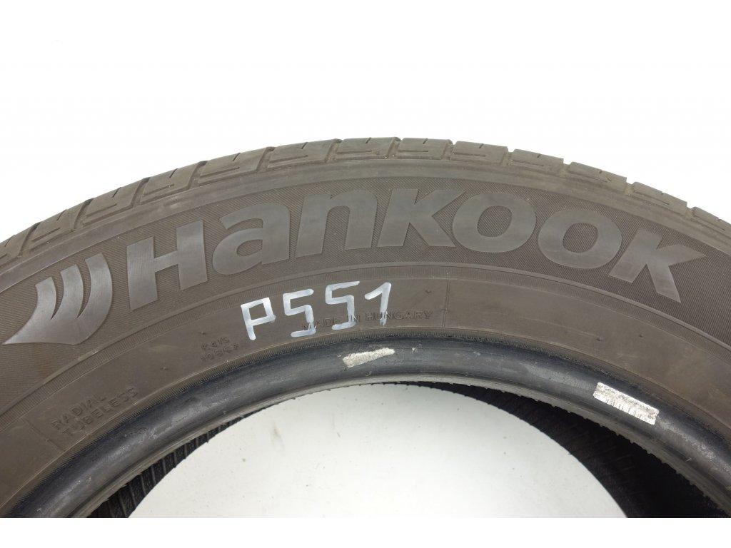 Letní Hankook 225/60R17 - 4ks - vzorek cca 5,8 mm