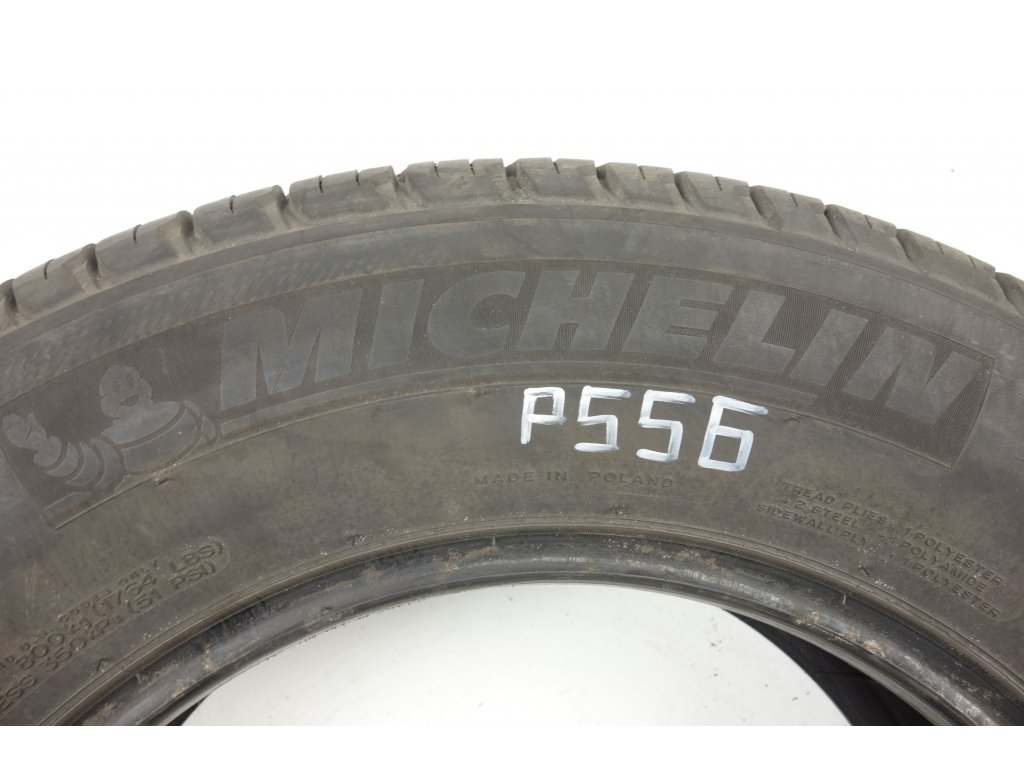 Letní Michelin 215/70R16 - 4ks - vzorek cca 6,4 mm