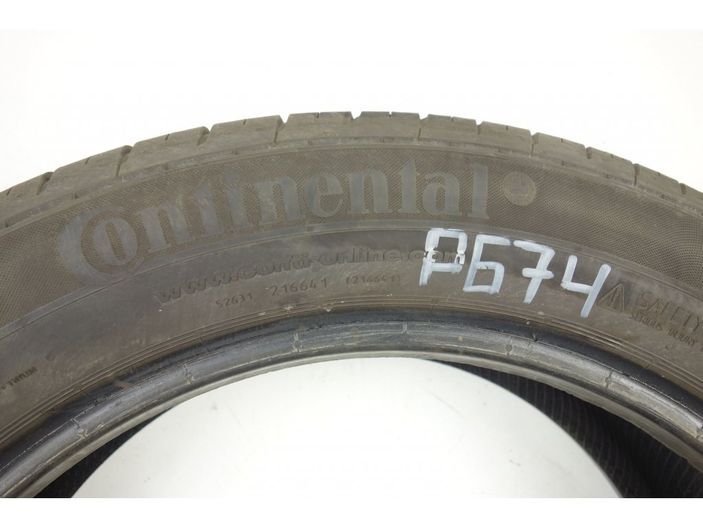 Letní Continental 215/55R18 - 4ks - vzorek cca 7,3 mm