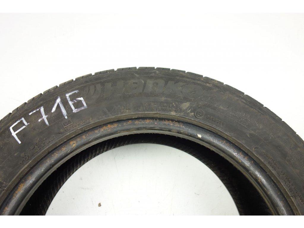 Letní Hankook 185/60R15 - 4ks - vzorek cca 7,1 mm