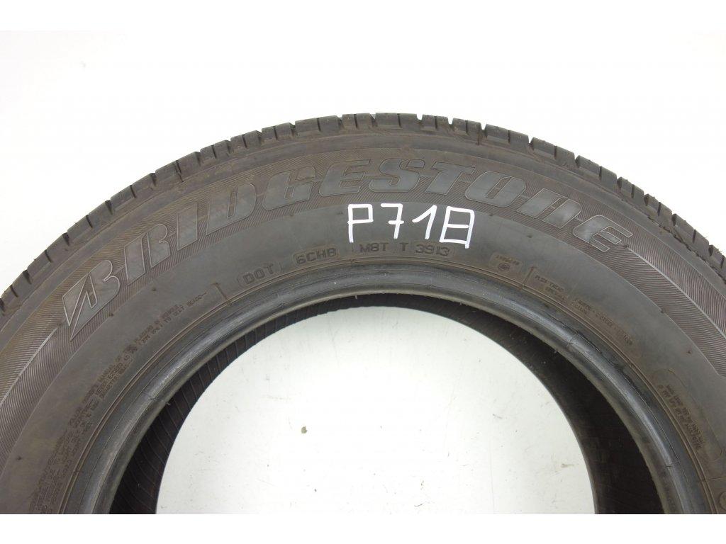 Letní Bridgestone 215/65R16 - 4ks - vzorek cca 7,9 mm