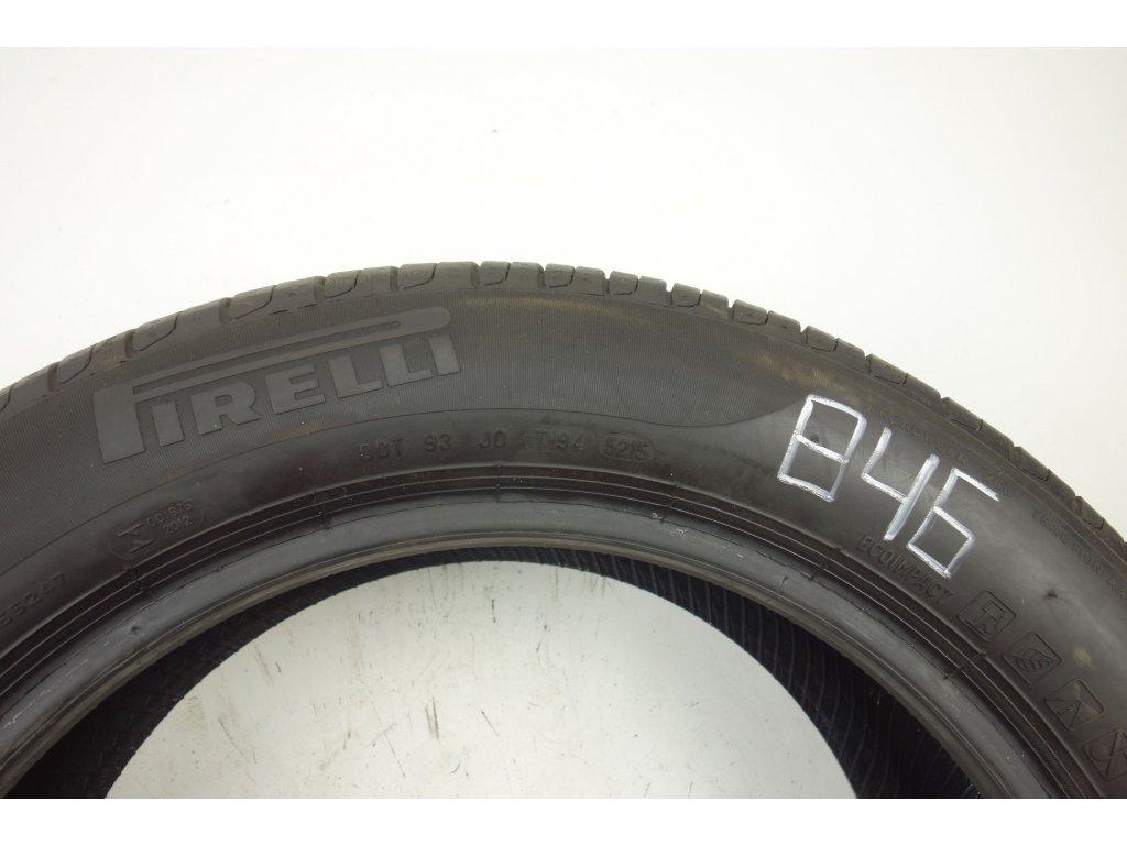 Letní Pirelli 215/55R17 - 4ks - vzorek cca 7,8 mm