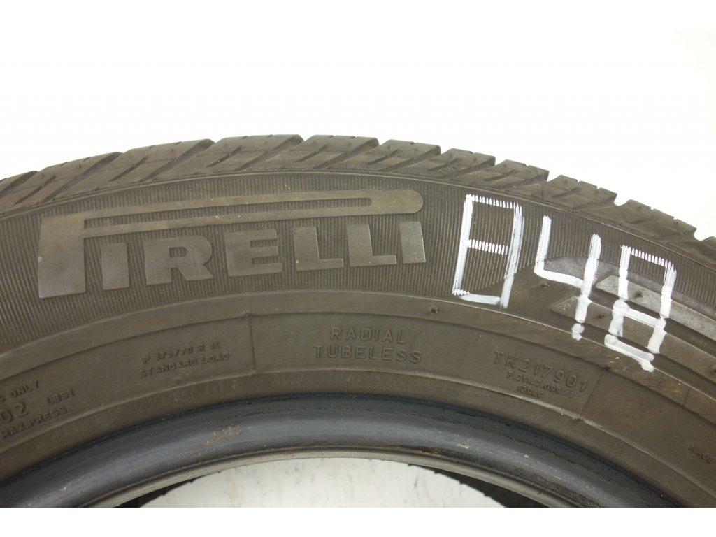 Letní Pirelli 175/70R14 - 4ks - vzorek cca 6,6 mm