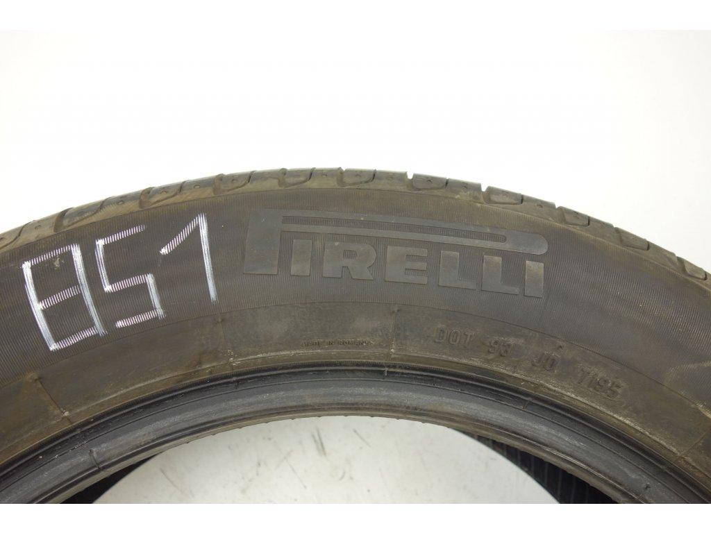 Letní Pirelli 215/55R17 - 4ks - vzorek cca 7,3 mm