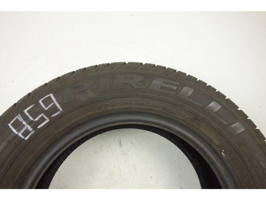 Letní Pirelli 175/70R14 - 4ks - vzorek cca 5,4 mm