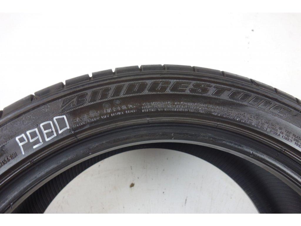 Letní Bridgestone 255/40R18 + 225/45R18 - 4ks - vzorek cca 6,2 mm