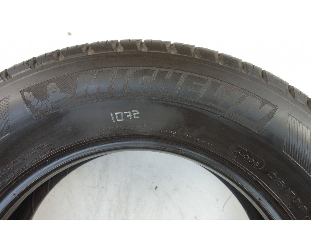 Letní Michelin 215/70R16 - 4ks - vzorek cca 5,4 mm