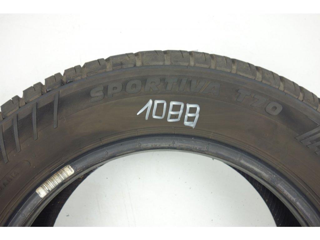 Letní Sportiva 155/70R13 - 4ks - vzorek cca 5 mm