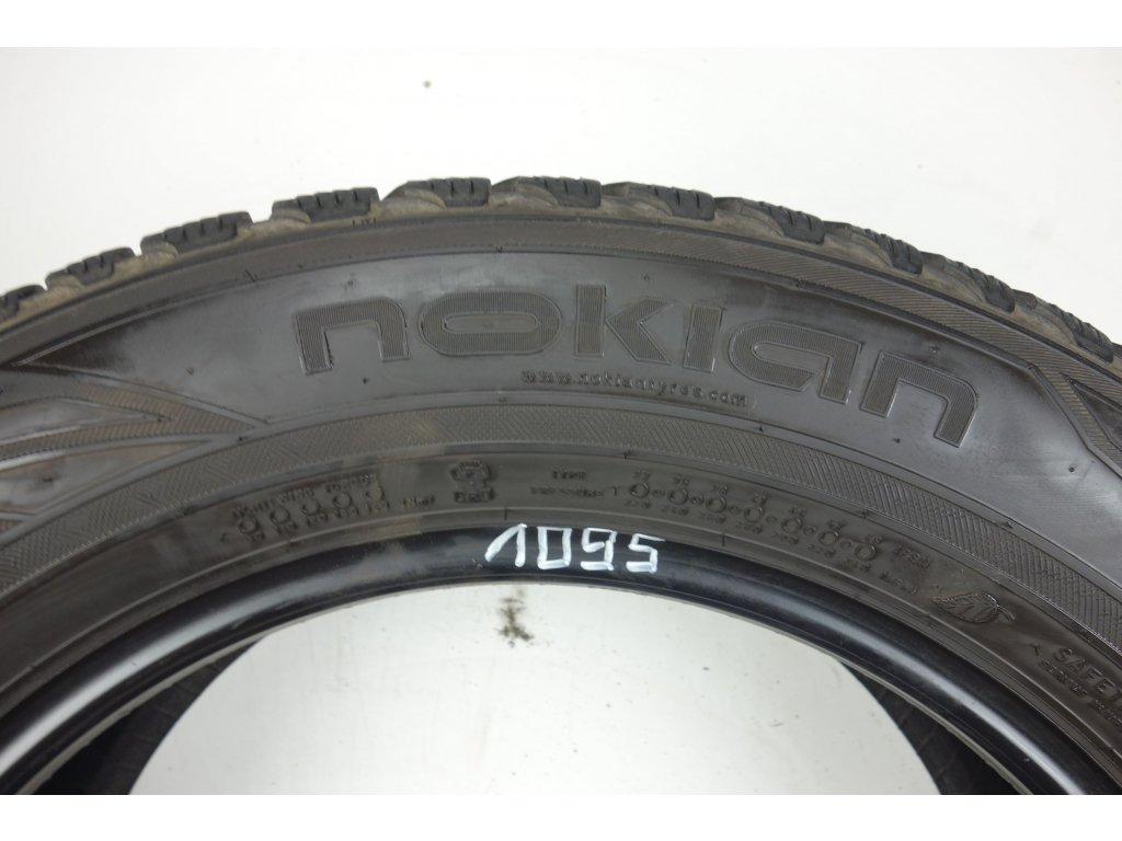 Zimní Nokian 225/60R17 - 4ks - vzorek cca 5,9 mm