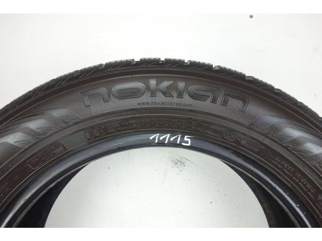 Zimní Nokian 215/60R17 - 4ks - vzorek cca 6,9 mm