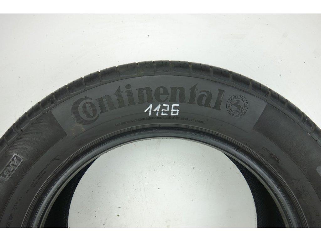 Letní Continental 225/60R17 - 4ks - vzorek cca 4,7 mm