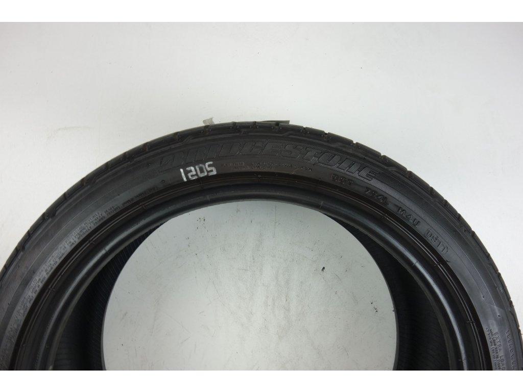 Letní Bridgestone 205/45R17 - 4ks - vzorek cca 5,5 mm