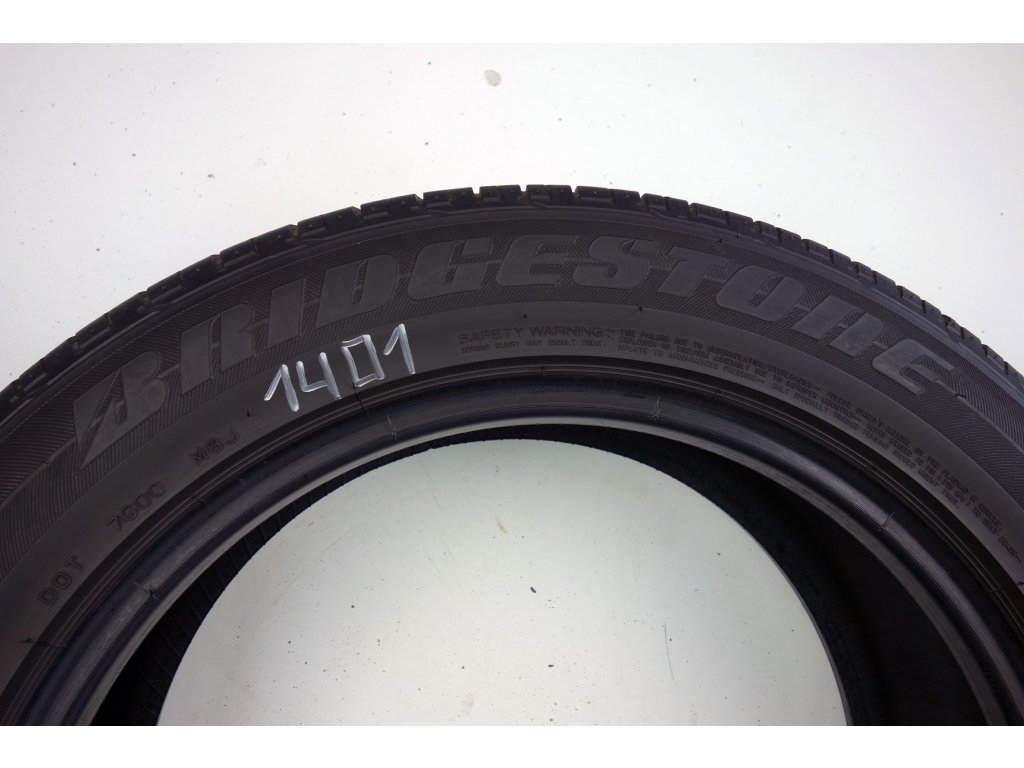 Letní Bridgestone 225/55R18 - 4ks - vzorek cca 5,5 mm