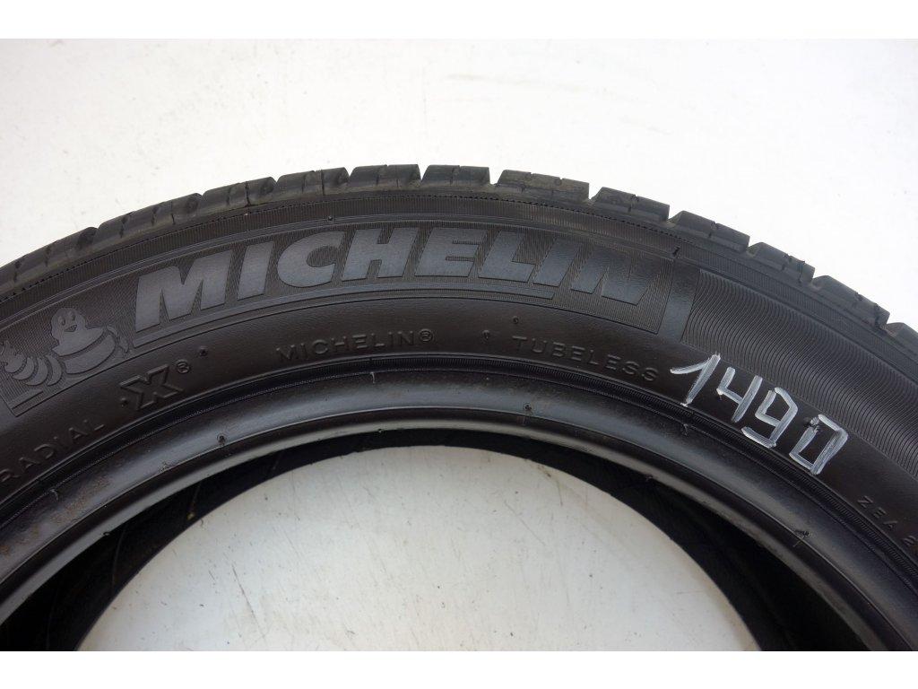 Letní Michelin 165/60R14 - 4ks - vzorek cca 6,1 mm
