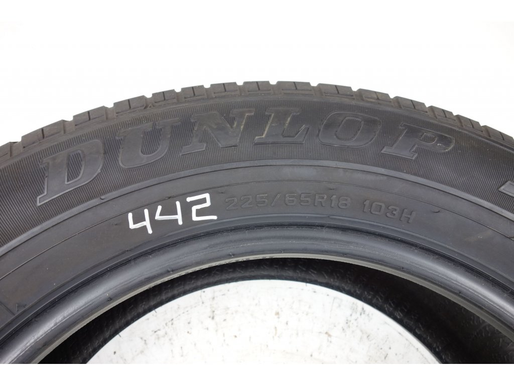 Letní Dunlop 225/65R18 - 4ks - vzorek cca 6,1 mm