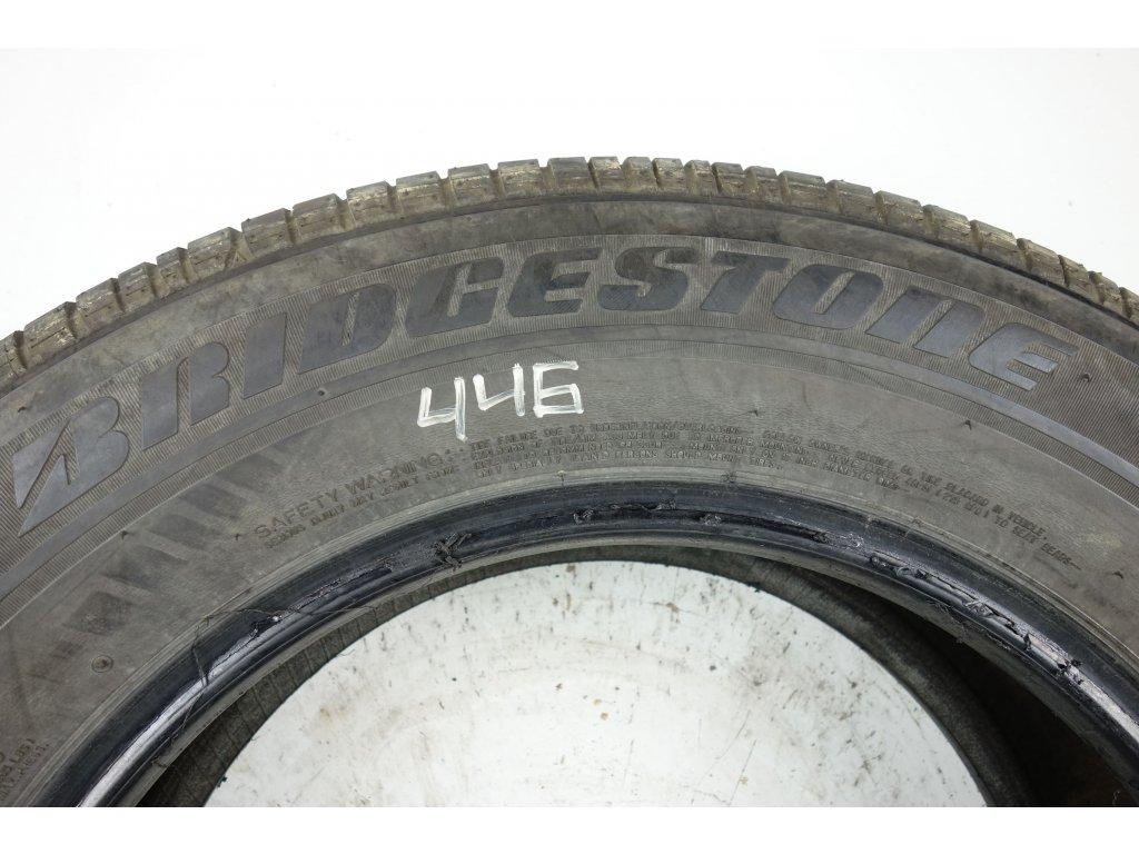 Letní Bridgestone 235/65R17 - 2ks - vzorek cca 4,5 mm