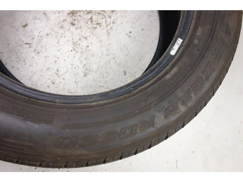 Letní Pirelli 235/60R18 - 4ks - vzorek cca 3,4 mm