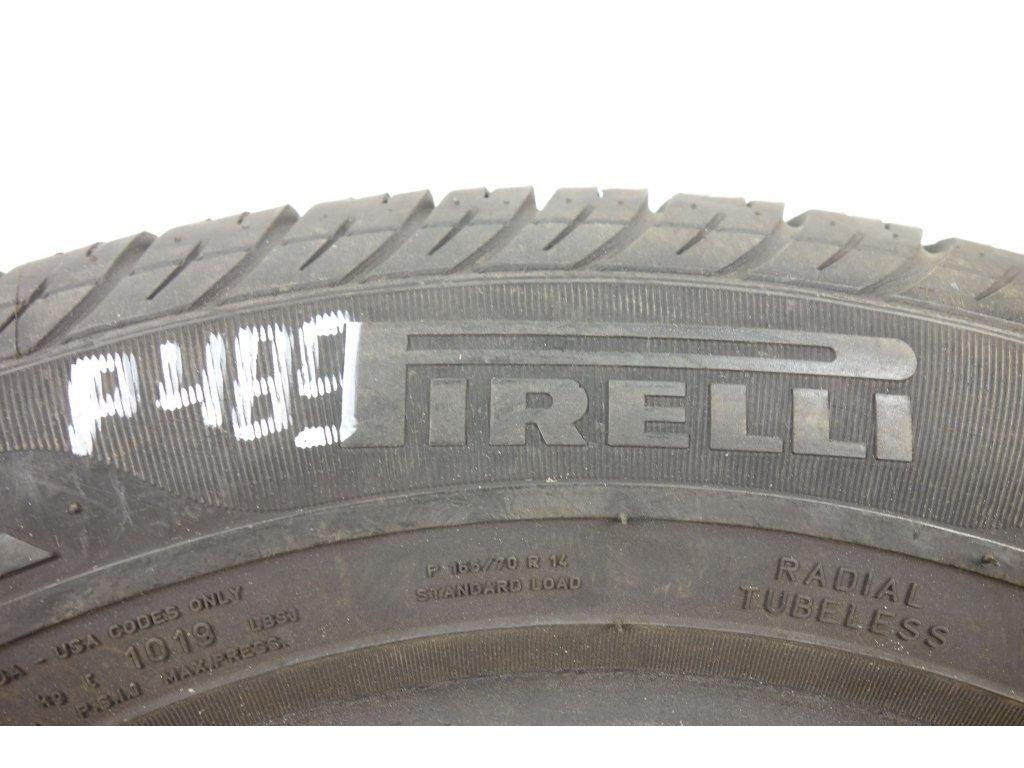 Letní Pirelli 165/70R14 - 4ks - vzorek cca 5 mm