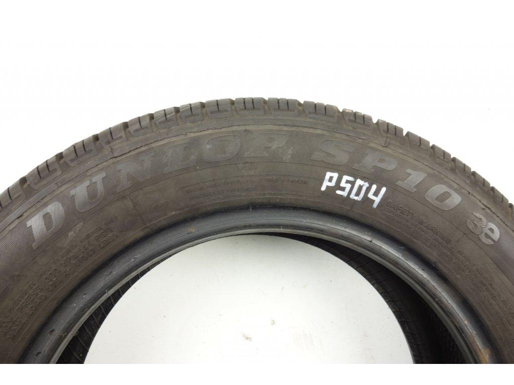 Letní Dunlop 175/65R14 - 4ks - vzorek cca 4,4 mm