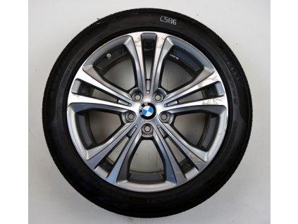 "BMW X1 F48 X2 F39 18"" Originální letní sada"