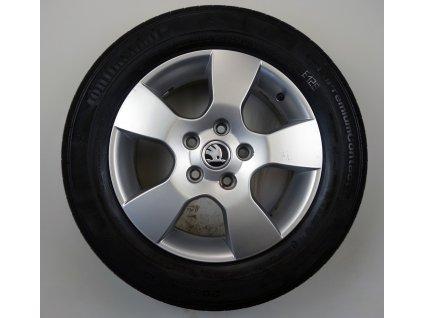 """Volkswagen Škoda Touran Octavia 15"""" Originální letní sada"""