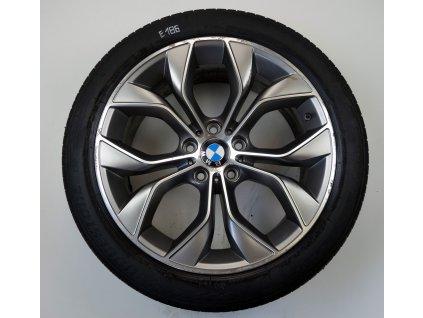 "BMW X3 X4 F25 F26 19"" Originální letní sada"