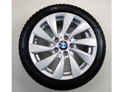"""BMW 3 E90 E91 1 F20 F21 17"""" Originální zimní sada"""