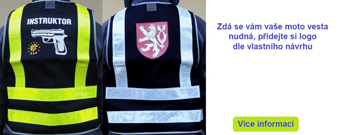 Reflexní vesta s vlastním logem