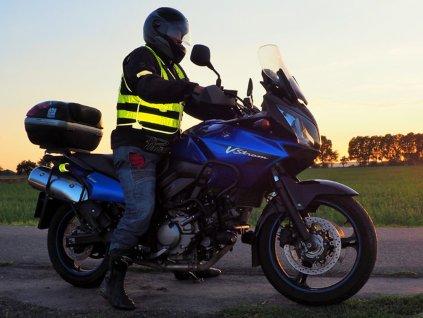 Reflexní vesty pro motorkáře