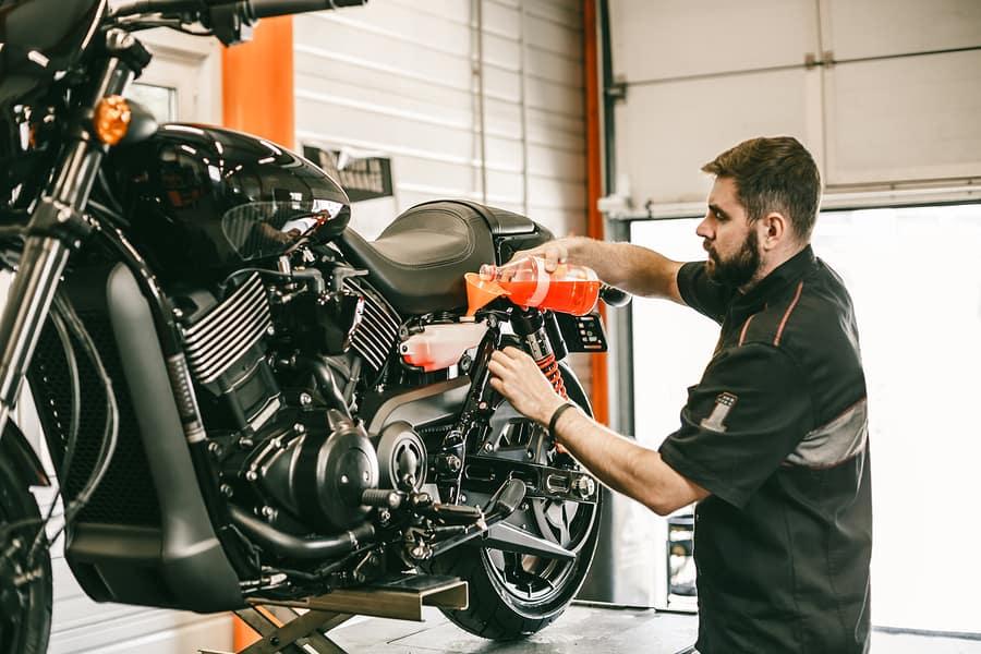 Jak na čištění a údržbu motocyklu