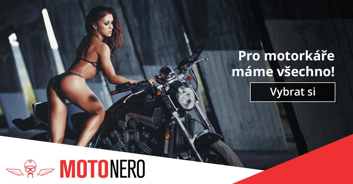 Pro motorkáře máme vše