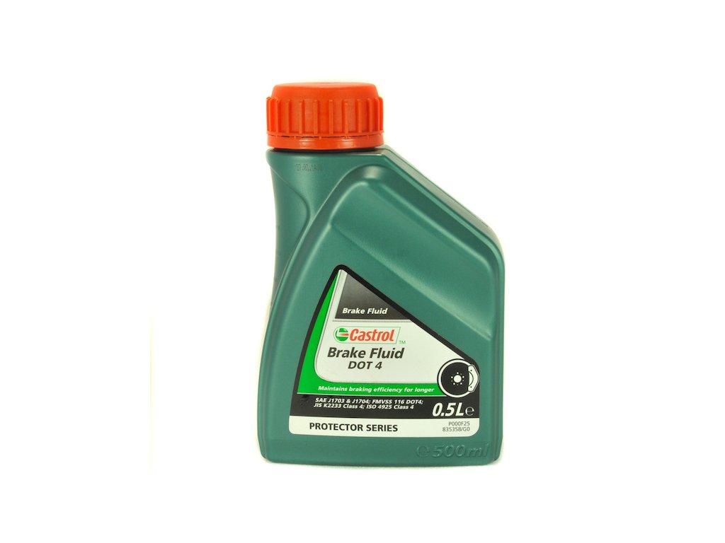 castrol break fluid dot 4 0 5l 1229