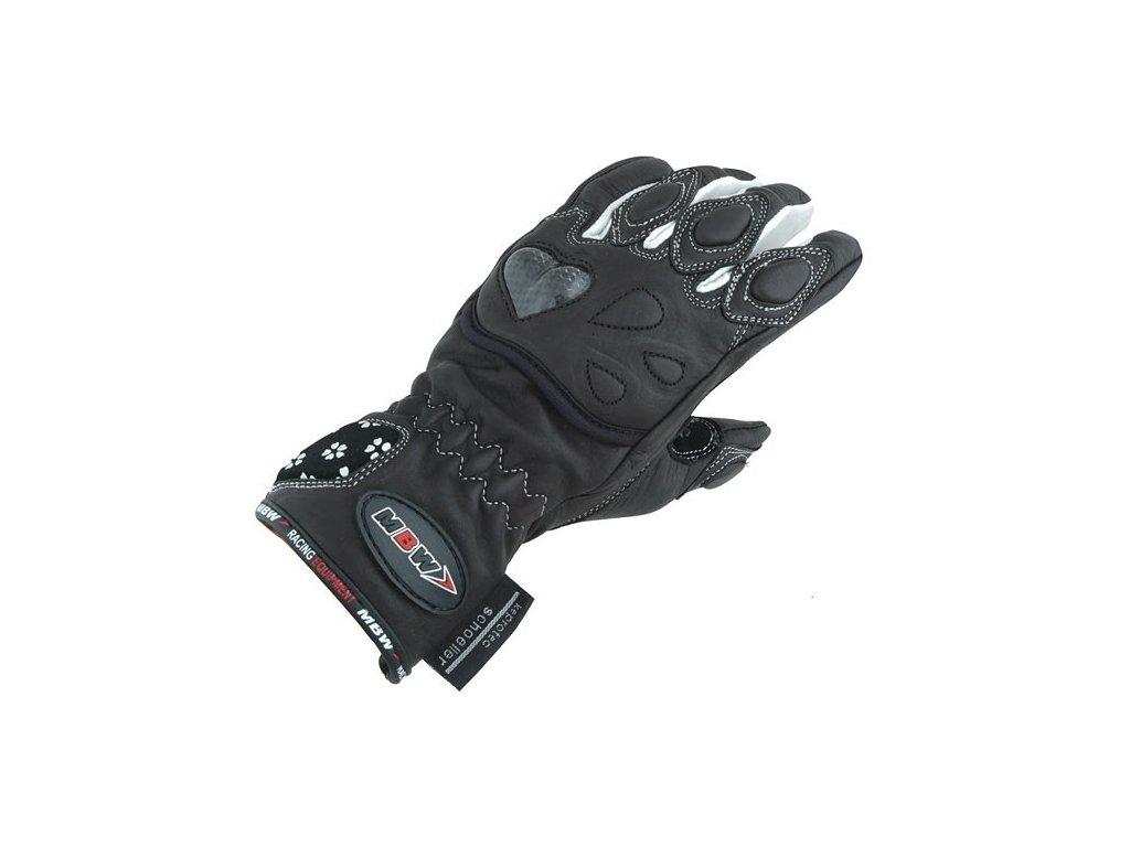 MBW DAISY dámské kožené rukavice na motorku