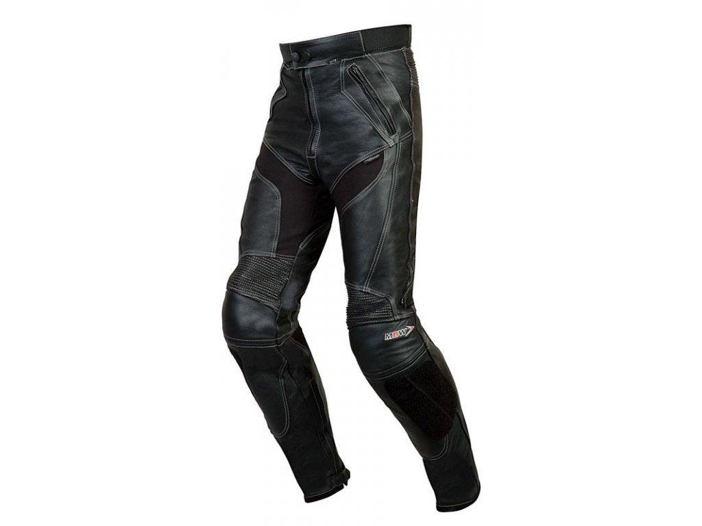 MBW PATRIGO moto kalhoty z lesklé kůže