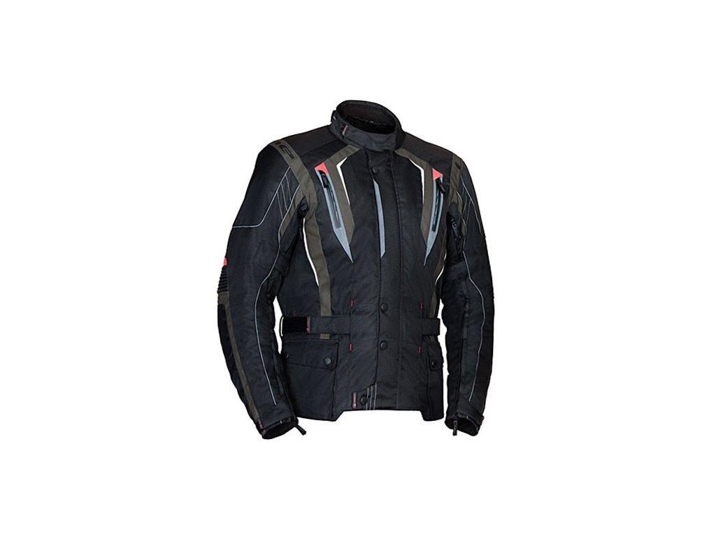MBW BUDDY textilní pánská moto bunda černá