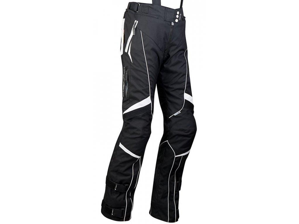 MBW EVELIN black dámské textilní kalhoty