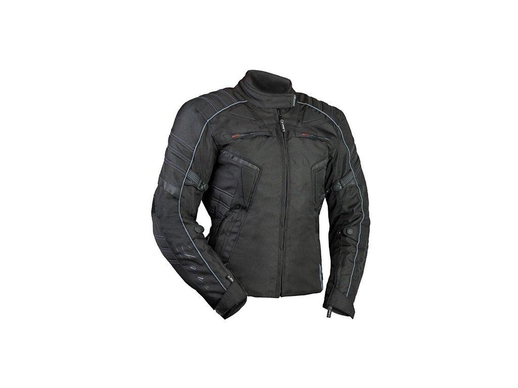 MBW MIRANDA textilní dámská moto bunda černá