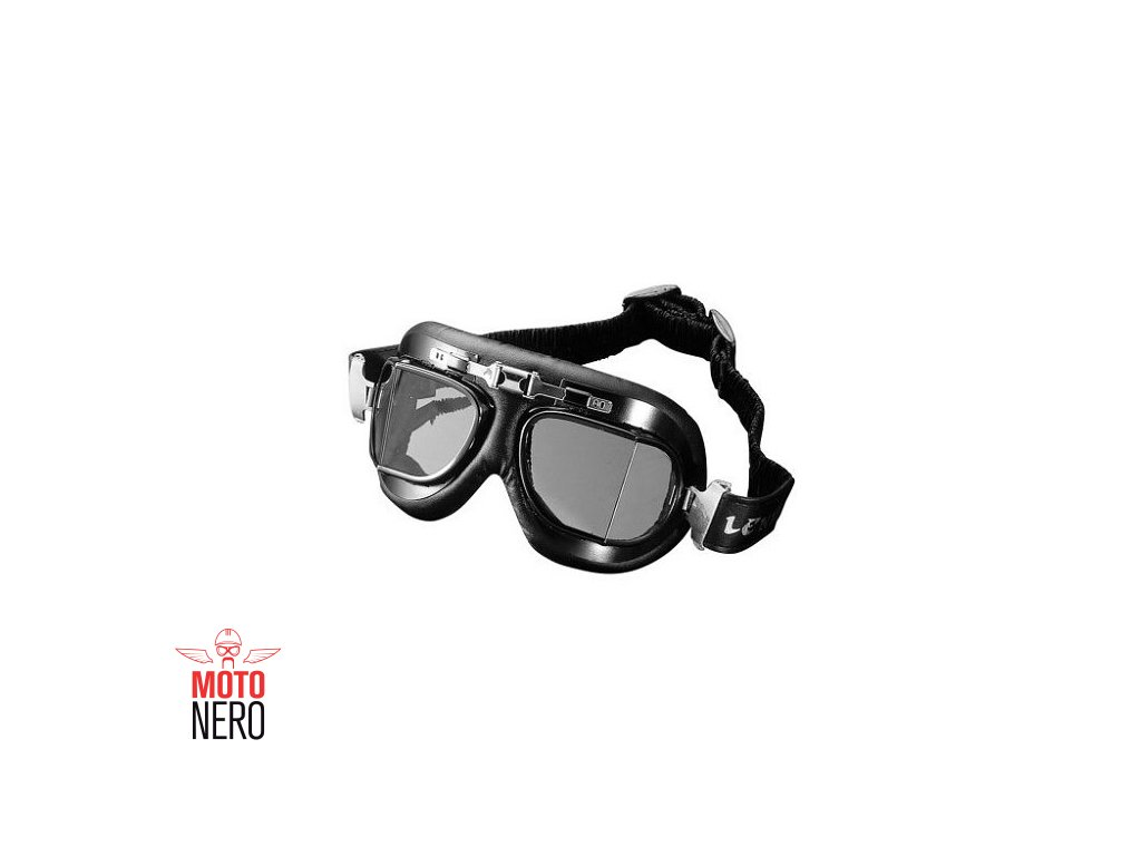 Motocyklové brýle Highway Hawk RED BARRON Classic lomené