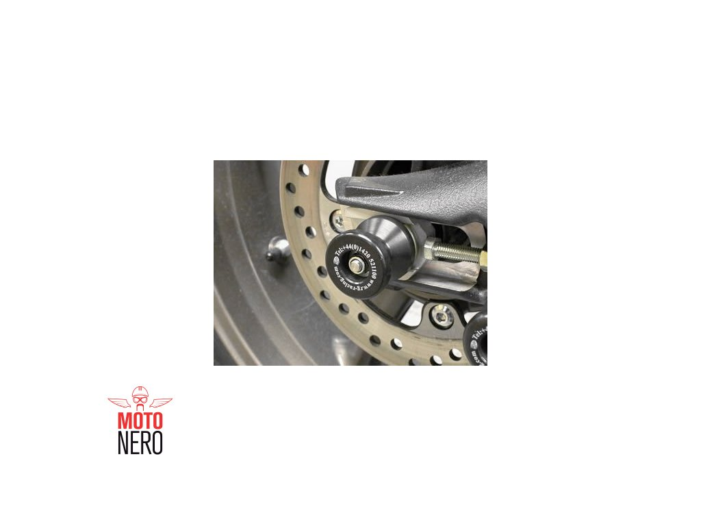 Chrániče osy zadního kola, Triumph Street Triple '07-, Street Triple R '08-  Daytona 675 '06-, černé