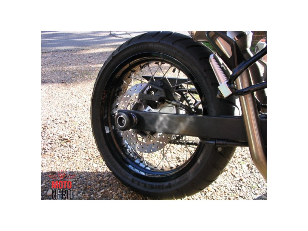 Chrániče kyvné vidlice, Yamaha XT660X/R, XTZ660 Tenere, černé