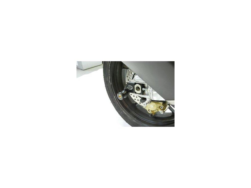 Přídavné ochranné špulky na kyvku (pár), Aprilia RSV4, černé
