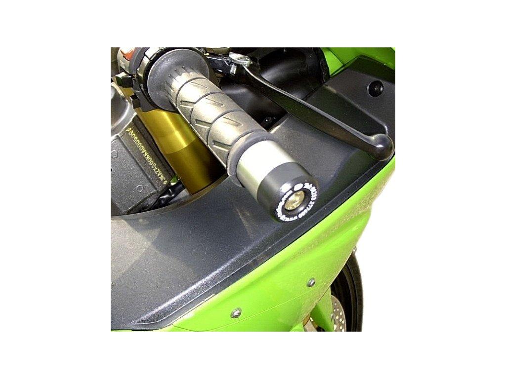 Závaží RG Racing do řidítek pro motocykly KAWASAKI. černá (pár)
