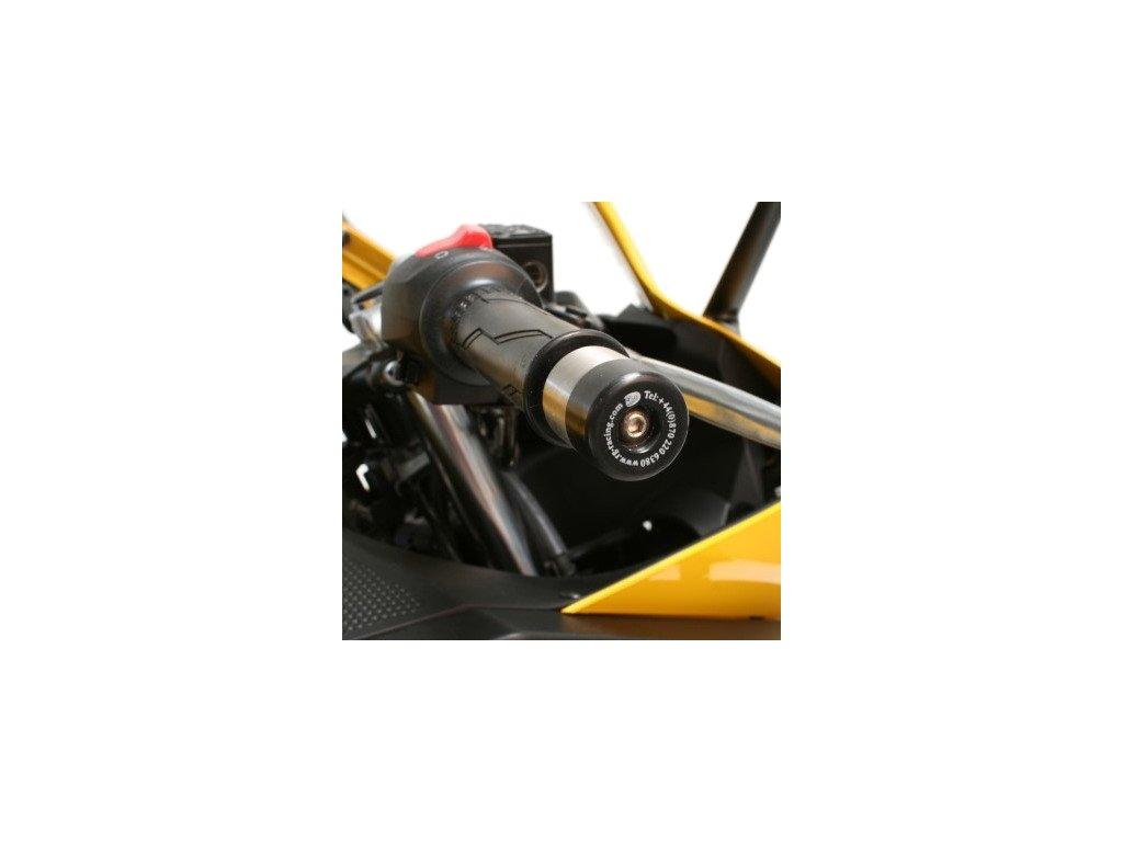 Závaží RG Racing do řidítek pro motocykly YAMAHA (více modelů), černá (pár)