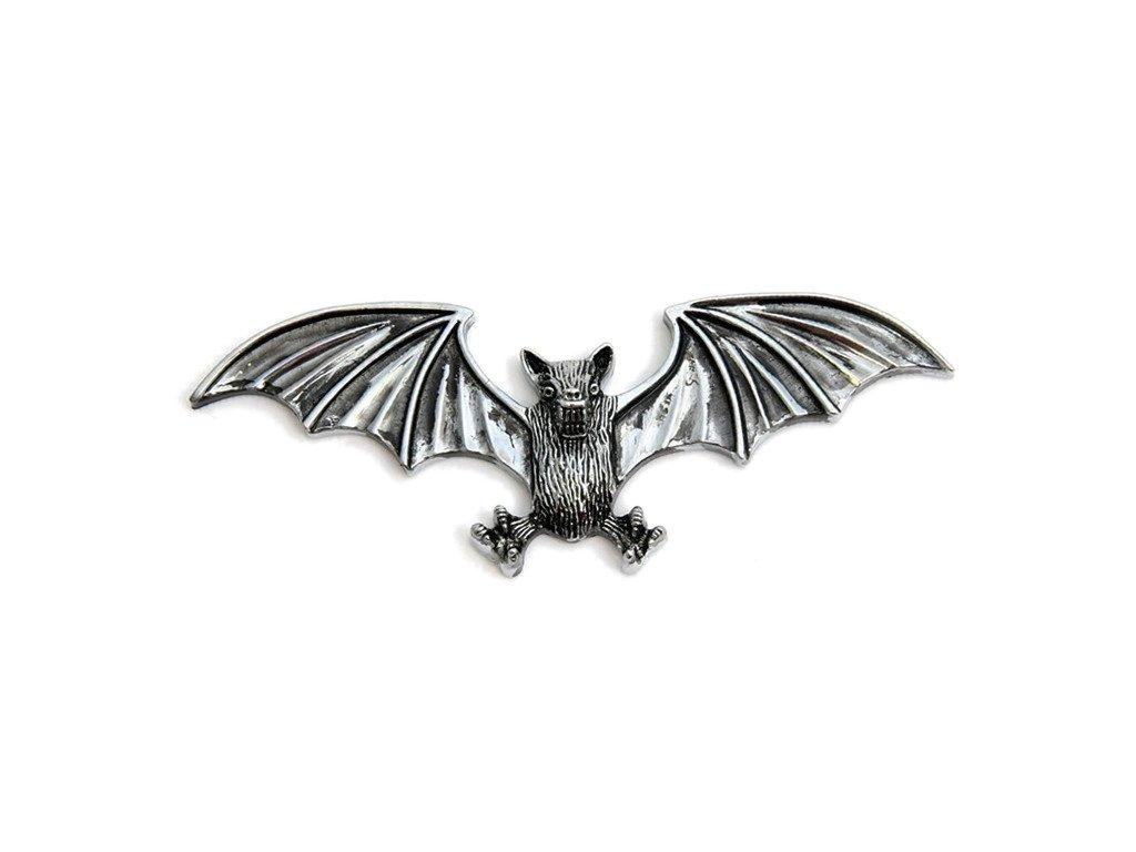 Samolepící emblém Highway Hawk BAT - netopýr, 125mm