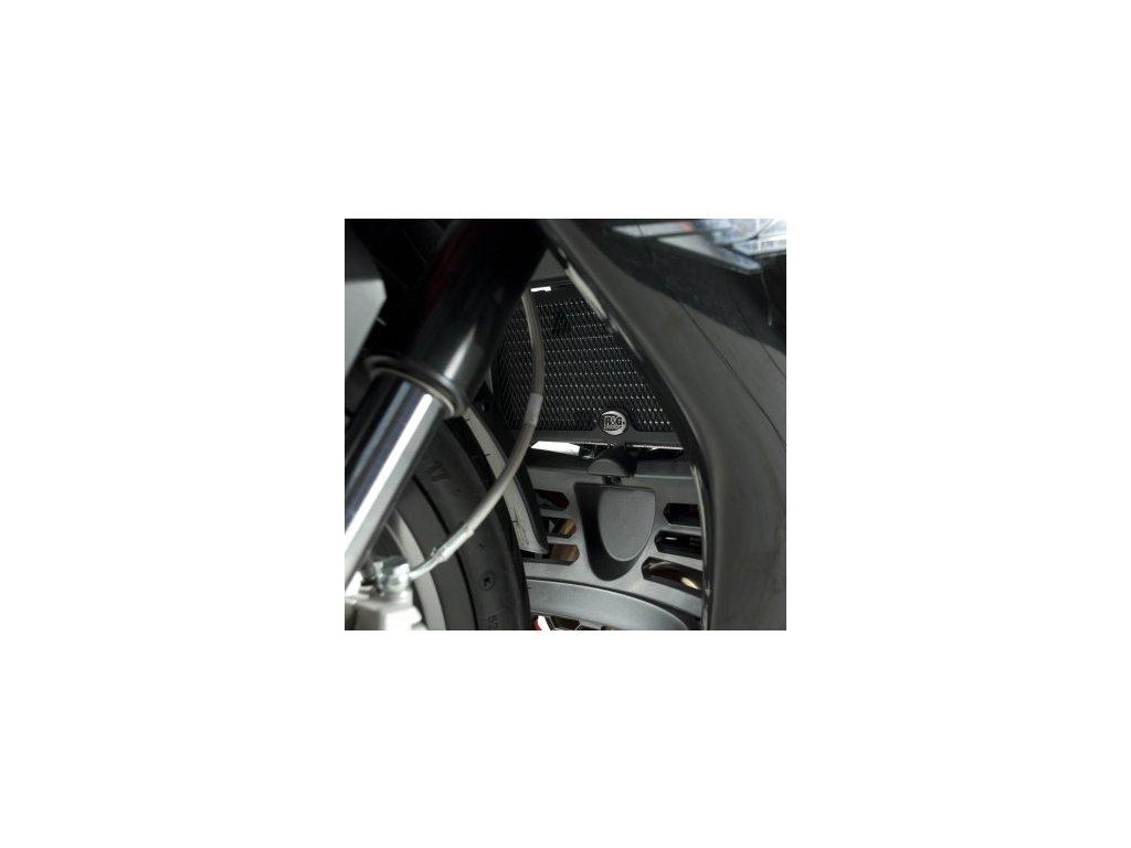 Ochranná mřížka chladiče - Aprilia RS4 125 (2011), černá