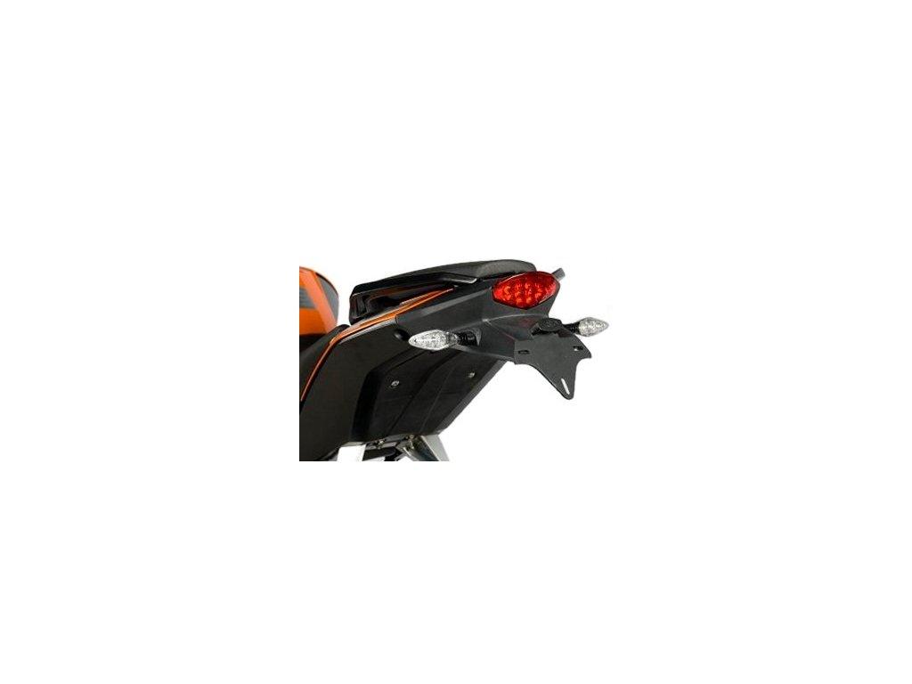 Držák SPZ, KTM 125/200/390 Duke, černý
