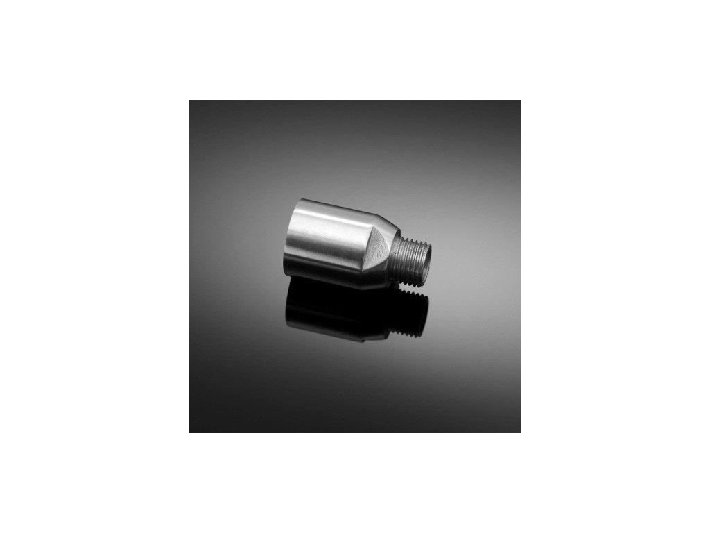 Adaptér pro montáž blinkrů pro motocykly HARLEY DAVIDSON, závit 3/8, chrom (pár)