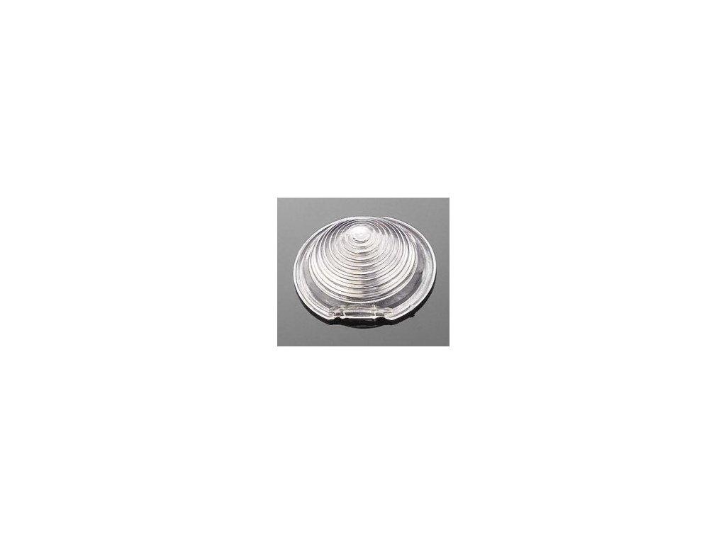 Sklíčko pro světlo motocyklu Highway Hawk BULLET, bílá (1ks)
