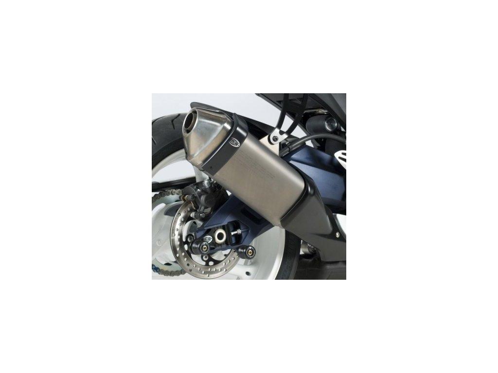 Chránič koncovky výfuku RG Racing pro motocykly APRILIA / HONDA / SUZUKI (vybrané modely)